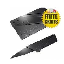 Faca Cartão Canivete Dobrável - Frete Grátis.