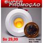 Mini Spot Super Led De Embutir 3w Branco Quente 3000k