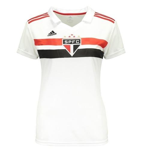7b9bf8e8e97 Camisa São Paulo Feminina 2018 19- Frete Gratis