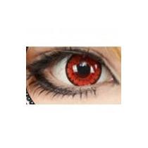 Lens Vermelha Demon Red - Cosplay - Fantasia - Halloween