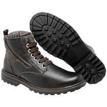 Sapato Coturno Bota Masc Casual Ziper Estilo Europeu Dhl