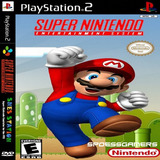 Snes Station Emulador Super Nitendo Com 792 Jogos Ps2 Patch