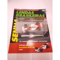 Lendas Brasileiras Ed. 12 Ayrton Senna Mc Laren Mp4/ Sb/1990