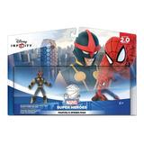 Disney Infinity 2.0 Playset Spider Man + Homem Aranha + Nova