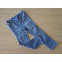 Calça Jeans Infantil Lilica Ripilica Com Cós De Elástico