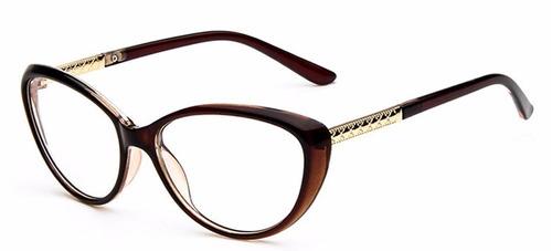 1792fb87d5abd Armação Óculos Gatinho Descanso Novo Sem Grau Acessório Va à venda ...