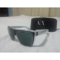 Oculos Armani Exchange Sunglasses Ax 4004 Black
