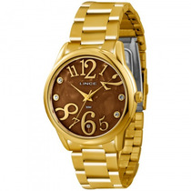 Relógio Lince Lrgk030l M2kx Feminino Dourado - Refinado