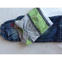 Conjunto Calça Jeans E Camisa Polo