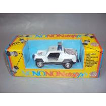 Brinquedo Antigo, Raro Jeep Brinquedos Rei Na Caixa Sem Uso.