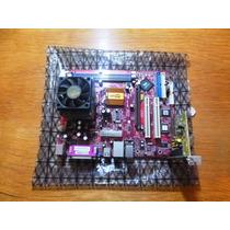 Kit Placa-mãe Pcchips M825g + Processador Amd Duron 900 +...