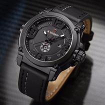 24b85e771a9 Relógio Masculino Militar Esportivo Naviforce Pulseira Couro à venda ...