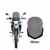 Parabrisa Universal Xre 300 Fume Mais Defletor Moto Visor