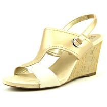 Anne Klein Leni Synthetic Wedge Sandal