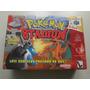 Pokemon Stadium Nacional Versão Big Box Para Nintendo 64