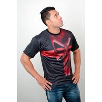 Camisetas Super Heróis Academia Treino Justiceiro