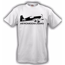 Camiseta Aeromodelismo Branca