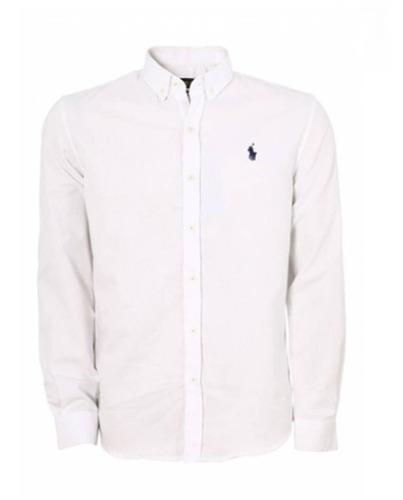 dc98aee0ba Camisa Social Polo Ralph Lauren Masculina Ralph Várias Cores - R ...