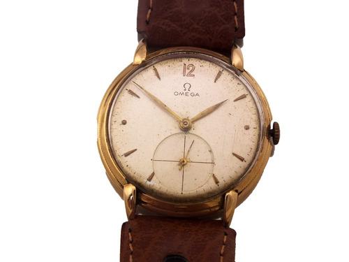 01f08efe6ca Relógio Omega Ferradura Masculino Todo Em Ouro 18k J12625