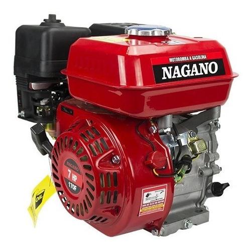 Motor A Gasolina 7 Hp Partida Manual - Nmg70 - Nagano
