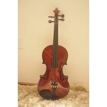 Violino 4/4 Luxo Antique Completo Com Case Luxo Guarneri