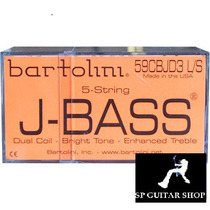 Set Captadores Bartolini Jazz Bass 5 Cordas 59cbjd3