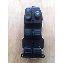 Conjunto Interruptor Botão Vidro Eletrico Honda Fit 04 A 08