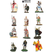 Miniatura Soldados Romanos Guerreiros Miticos Soldadinhos
