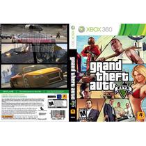Jogo Gta V Xbox 360 Lacrado Midia Fisica - Original