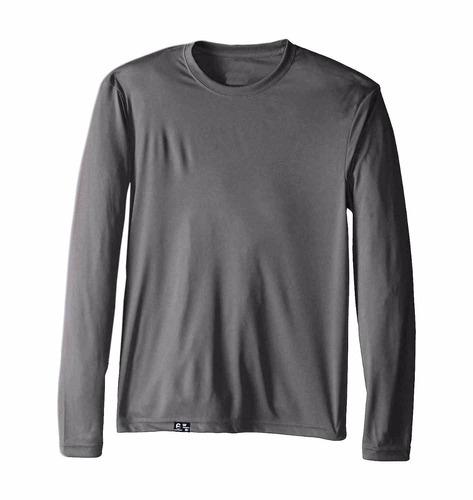 Kit Com 3 Camisetas Proteção Solar Uv 50 Pesca Corrida