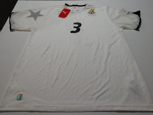Camisa Seleção Gana Copa 2010 - Home f92c9d32ae566