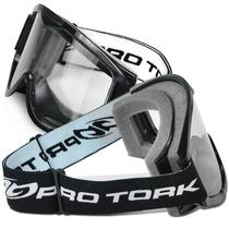 Oculos Motocross Pro Tork 788 Trilha Off Road Cross Preto