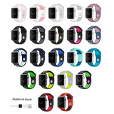 Pulseira Nike Sport Apple Watch Silicone 38mm 42mm 40mm 44mm