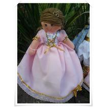Kit Bonecas Princesas De Pano, Boneca Princesa, Realeza Pano