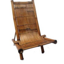 Cadeira Em Bambu Indiana