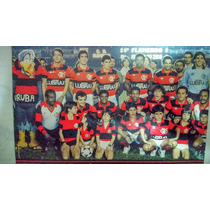 Mini Poster Do Flamengo 1985