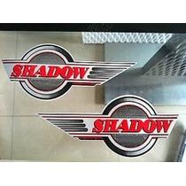 Adesivo Tanque Par Honda Shadow 750 600 Pronta Entrega