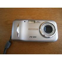 Máquina Câmera Fotográfica Olympus Fe-120 Cartão Memória 2g