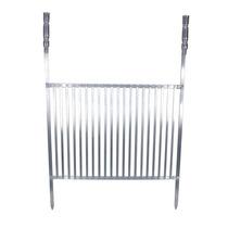 Grelha Em Alumínio Para Churrasco 65x55 Cm.