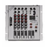 Mesa De Som 4 Canais Com Usb,com Mixer Profissional Stereo