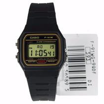 Relógio Casio F91 Serie Ouro Original