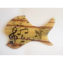 Escudo Rrp Para Violão De Boca Oval Music And Wood