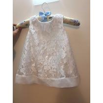 Vestido Para Criança,vestido Para Bebe De Renda