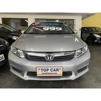 Honda Civic Lxs 1.8 Aut. (flex) 2014/2015 - Impecável