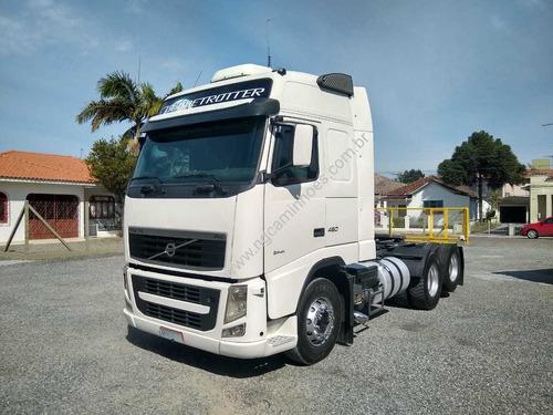 VOLVO FH460 I-SHIFT 2012 6X2 T.ALTO UNICO DONO FH440 FH420
