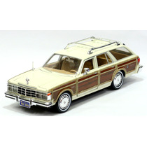 Miniatura Chrysler Lebaron Town & Country Wagon 1979 Creme
