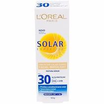 Protetor Solar Loreal Facial Invisilight Fps30 50g Expertise