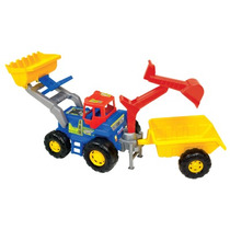 Trator Truck Super - Magic Toys - 12x S/ Juros