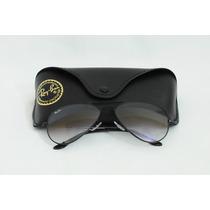 Óculos Ray Ban Aviador Rb3026 - Preto/lentes Fumê Degradê