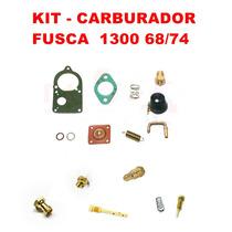 Kit Carburador Fusca 1300 68/74 Solex Simples